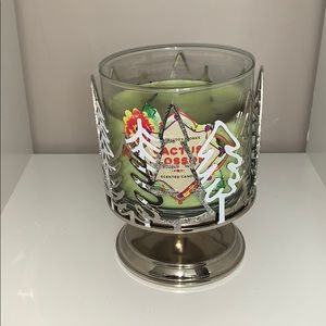 Bath & Body Works Accents - Christmas themed Candle holder